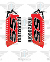 Marzocchi 55 custom Decals
